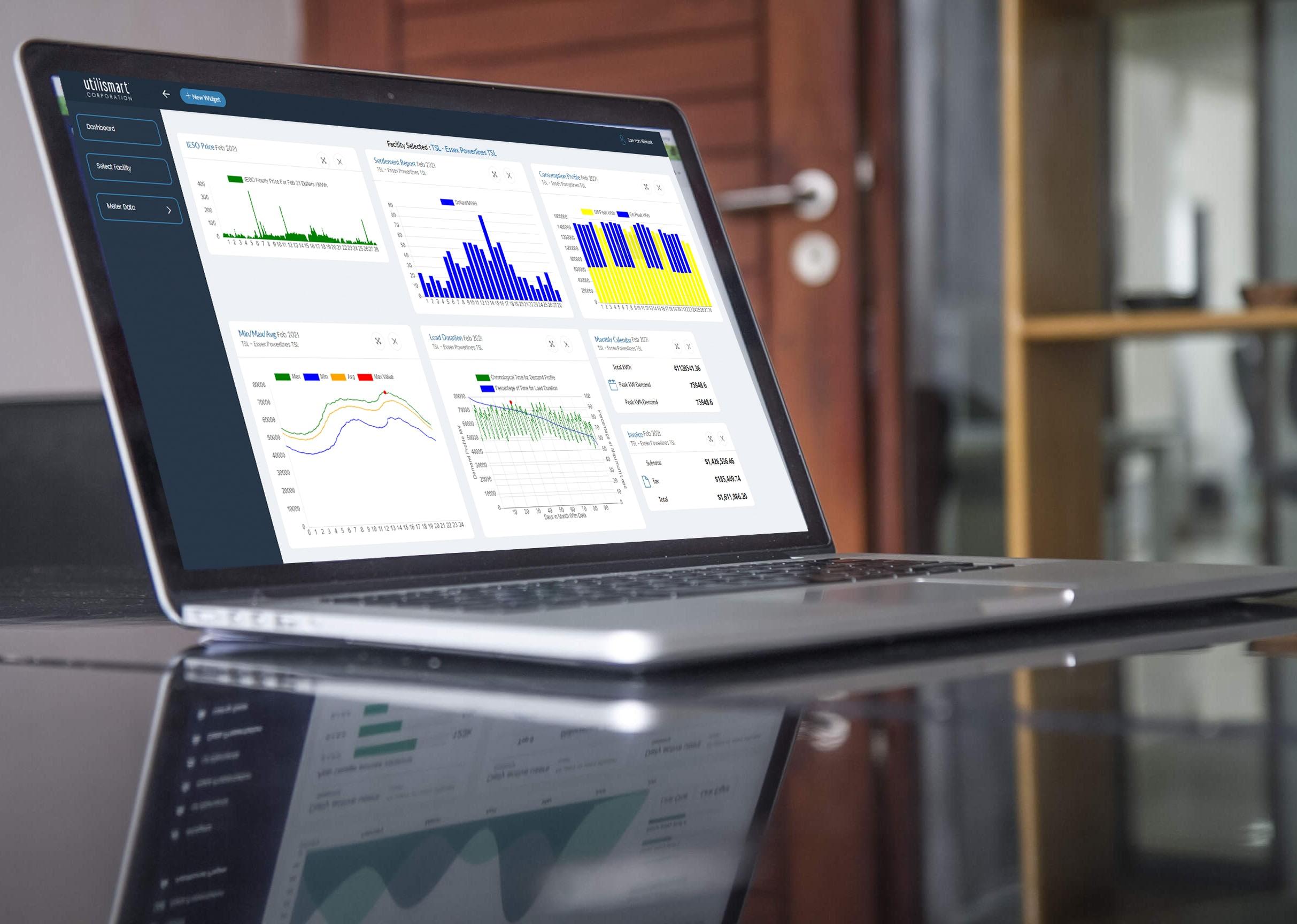 C&I Energy Management System  Dashboard